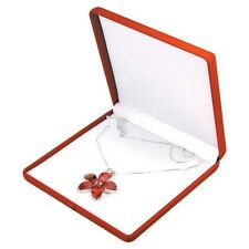 Red Velvet Large Necklace Chain Pendant Gift Packaging Boxes 1 2 6 12 24 Pcs