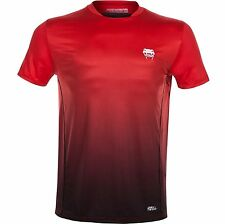 New Venum Contender Dry Tech T-Shirt - Red [MMA, UFC, FITNESS, DRI FIT] SALE