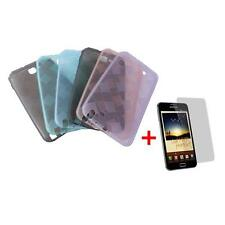 TPU CASE FOR SAMSUNG GALAXY TOUCH N7000 i9220 CASE COVER PHONE + Foil