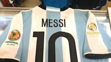 ADIDAS LIONEL MESSI ARGENTINA HOME JERSEY 2016 COPA AMERICA PATCH 100% AUTHENTIC