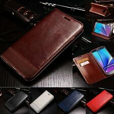 Luxury Flip Magnetic PU Leather Wallet Stand Case Cover Fr Samsung Galaxy Note 7
