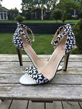 Primark Atmosphere Black And White Heels Size 5