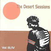 The Desert Sessions(Queens Of The Stone Age) CD Volume 3 & 4-Like New