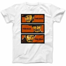 The Good The Bad & The Ugly T-Shirt 100% Premium Cotton Clint Eastwood