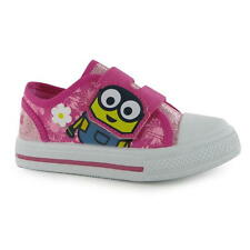 Minion Shoes Size 20-27 Leisure Sneakers trainers Canvas pink new