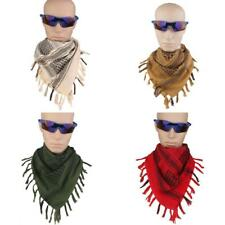 Unisex Military Army Tactical Desert Keffiyeh Square Scarf Wraps Various Colors