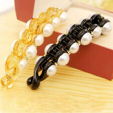 1Pc Beautiful Pearls Hairpins Hair Jewelry Clips Headwear Women Girl Ponytail