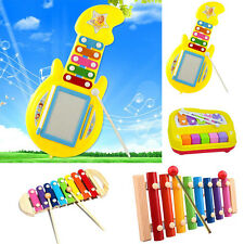 Baby Kids Xylophone Musical Education Toys Wisdom Development Wooden Instrument