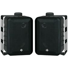 RtR Series 3-Way Indoor/Outdoor Speakers (Black)