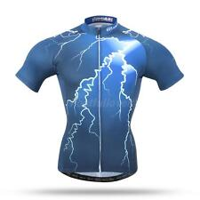 Men's Cycling Jersey Bike Short Sleeve Top Shirt Clothing Bicycle Jersey S-3XL