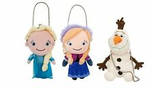 Disney store Frozen princess Elsa, Anna or Olaf Coin Purse Plush Toy Doll NEW