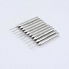 10/5/1 PCs CED 0.5mm NEW Carbide PCB Dremel Jewelry CNC Drill Bits 38mm - UK