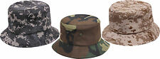 Classic Style Camouflage Military Fishing Bucket Hat Rothco