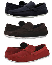 Hugo Boss Mens C-Traveso Casual Slip On Moc Toe Strap Loafers Shoes
