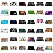 Black Slim Silicone Anti-Slip Mice Mouse Pad Mat Mousepad For Laser Mouse