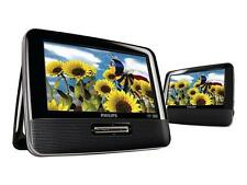 "Philips PD7012 Portable DVD Player (7"") LCD Dual screens color LCD display"