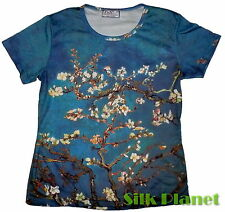 VINCENT VAN GOGH Almond Branches Bloom PAINTING TOP TEE T SHIRT FINE ART PRINT