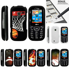 For LG Cosmos 3 VN251S Case Hard Snap On 2 Piece Slim Shell Popular Sports