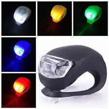 MultiColored Bicycle Silicone Frog Light LED Front/Rear Firm Safety Warning Lamp