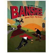 NEW Banshee: The Complete First Season (DVD, 2013, 4-Disc Set) Free Shipping