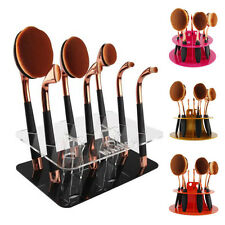 Makeup Brush Holder Display Drying Rack Stand Organizer Cosmetic Shelf Tool Lot
