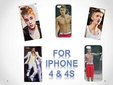 New Sexy Justin Bieber Cover Case for iPhone 4/4s