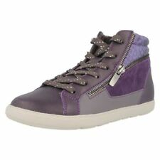 Girls Cica by Clarks Boot Style Trainers Zita Snake
