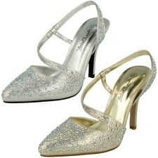 Ladies Anne Michelle Sling Back, Evening Shoes