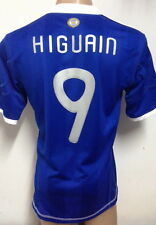2010 ARGENTINA CLIMACOOL AWAY SOCCER JERSEY HIGUAIN #9 SIZE LARGE