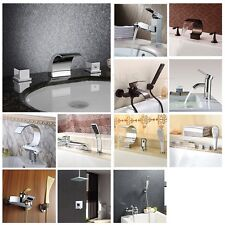 Bathroom Basin And Bath Tub Faucet Mixer Tap Shower Faucet Modern USA Warehouse