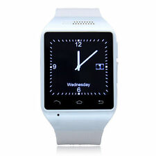 "Bluetooth Watch Snart Phone Watch Touch Screen 1.54"" MP3 FM Quad band GSM GPRS"