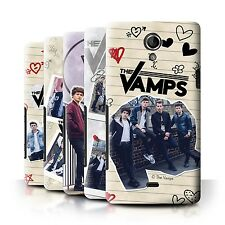 Official The Vamps Case/Cover for Sony Xperia T/LT30 /The Vamps Doodle Book