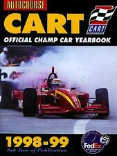 Autocourse Cart Official Yearbook, 1998-99 by Jeremy Shaw (1999, Hardcover)