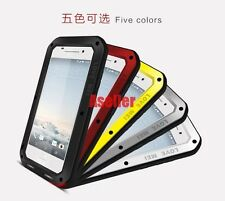 For HTC One A9 Shockproof Waterproof Gorilla Glass Metal Rugged Defender Case