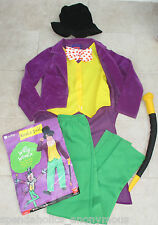 WILLY WONKA, BOYS FANCY DRESS OUTFIT AGE 10-12, WORLD BOOK DAY CHARLIE CHOCOLATE