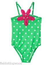 NWT Gymboree Sunny Days Green Dots Swimsuit Toddler or kid Girl Many sizes