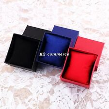 Present Gift Boxes Case For Bangle Jewelry Ring Earrings Wrist Watch Box K2