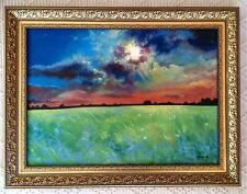 Stormy Sunset Original Oil Painting Or Limited Edition Prints Landscape Sky