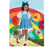 Wizard of Oz Dorothy Costume Girls Book Week Fairy Tale Child Dress S: S / M