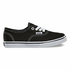 Vans Authentic Lo Pro Black White Canvas Kids Size New In Box