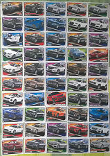 Top Gear Turbo Attax Trading Cards - Modern Cars - Select from #1 - #50
