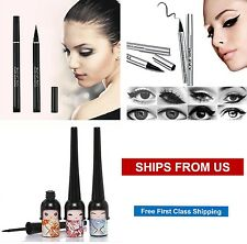 NEW Black Liquid Eyeliner Waterproof Make Up Eye Liner Pencil