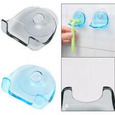 Wall-mounted Suction Cup Shaver Razor Holder Cupula Caps Rack Hanger Bathroom