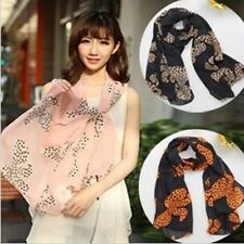 New Arrival 2015 Korea Style Fashion Lovely Chiffon Big Bowknot Scarf Shawls