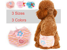 S-L Dog Pet Female Undies Nappy Diapers Shorts Season Sanitary Pants Underwear