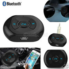 3.5mm Wireless Bluetooth Audio Stereo Music Speaker Mic Car Receiver Adapter Lot