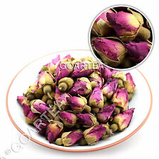 Organic Red Rosebud Rose Buds Flower Floral Dried Herbal Natural Chinese Tea