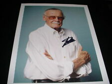 STAN LEE  autographed SIGNED AUTO 8X10 PHOTO MARVEL COMICS spiderman coa