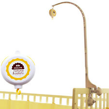 SHILOH New Baby Crib Mobile Bed Bell Holder Arm Bracket & Auto Music Box 60 Song