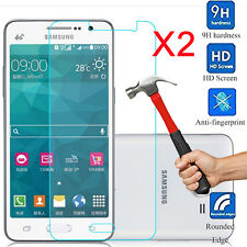 2X Real Tempered Glass Screen Protectors Films Covers For Samsung Galaxy Guards